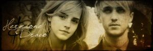 Fire and Ice- Dramione Banner by CalCrazy