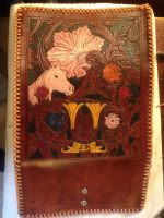 Horse and floral billfold (finished) by Solvius