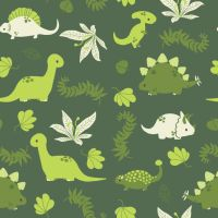 Dino Dino Pattern by pronouncedyou