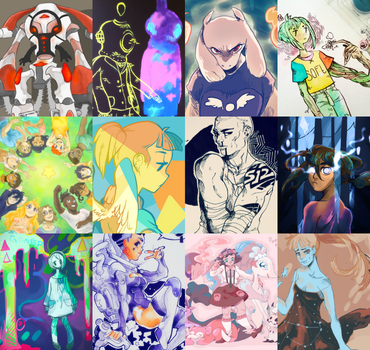 2016 Art Review by arcadechan
