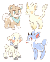 Pastel adopts by SadMilks