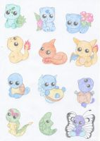 Pokemon 1-12