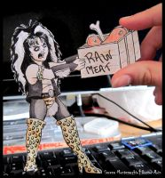 Blackie Lawless 'Paper'child by WASP-Deviations