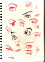 Eye Sketches by emmshin