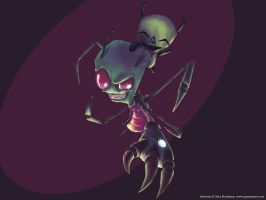 Invader Zim by GaryStorkamp