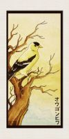 Goldfinch by inkloose