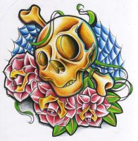 skully colour by WillemXSM