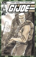 G.I. Joe Duke Sketch Cover by timshinn73