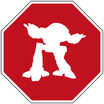 Stop Killer Robots ED 209 Sign by topher147