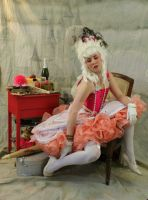pink Marie antoinette preview by magikstock