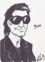 BONO Warm Up Sketch by phymns