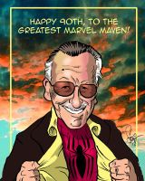Stan Lee's 90th by Sonion