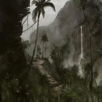 Tropical Canyon by LJFHutch