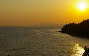 68 - Croatian sunset... by AnnaMagdalenaPe