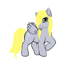 What Derpy Hooves Would look like back in 2005 by bieber90pink