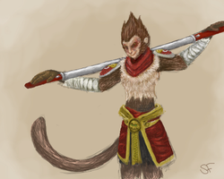 Wukong the Monkey King by Neocridders