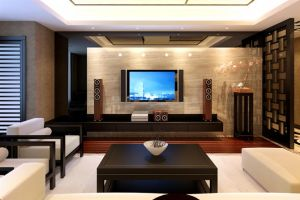 Chinese Style Living Room -1 by PhoenixBai