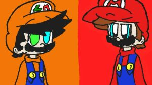 Luirio vs Mario by Shania67