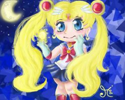 Sailor Moon Crystal - by ChibiWendy by ChibiWendy