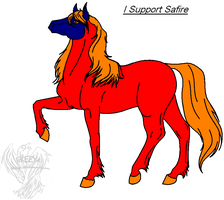 I Support Safire by Adoptablegirl