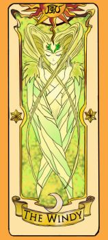 Clow Card The Windy by inuebony