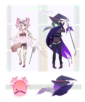 Hatched Mage Eggs {set 2, #s 3 and 4} by Bitschi
