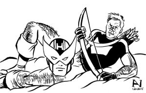 Hawkeye by IanJMiller