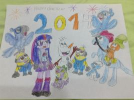 Happy New Year 2014 by DanielaEspinoza19
