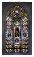 Cathedral - Colored Window by real-creative