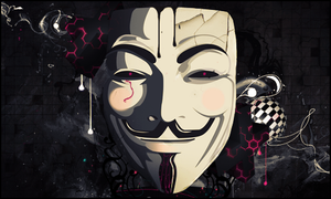 Anonymous - V For Vendetta by da-hazard