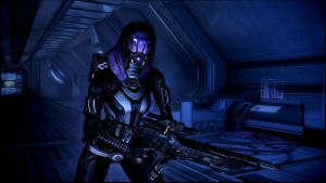 Mass Effect 3 Tali Dreamscene by droot1986