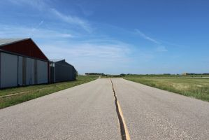 Taxiway- Clark County Airport by Devan465