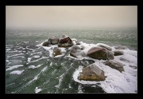 winter Balaton by YoachimHUN
