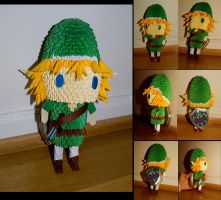 3d Origami Link by Shykittyhime