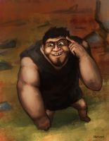 Grug The Croods by Lv-Simian