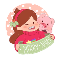 Mabel MerryChristmas by Stick2mate