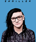Skrillex Work by XombiiDesigns