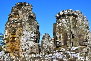 Bayon Faces  2 by CitizenFresh