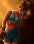 Boxing Korra by Grimmby