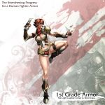 Human Female Fighter 1st Armor by reaper78