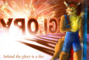 behind the glory is a fire by arracraidira