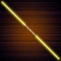 Yellow Double Saber v1 by dragon457