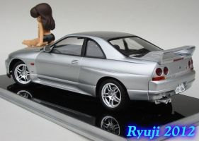 Tamiya R33 GT-R 03 by celsoryuji