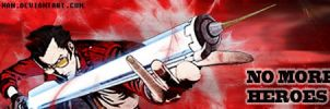 NO MORE HEROES banner sig by Gee-Man