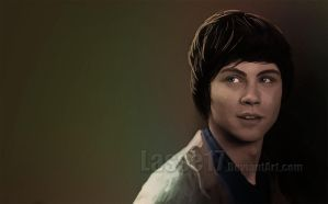 Logan Lerman by Lasse17