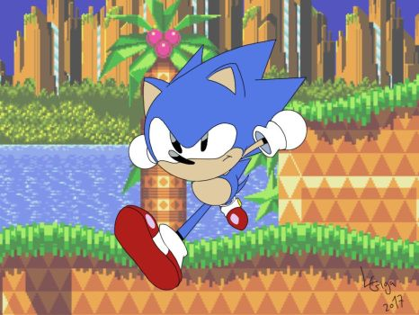 Sonic CD by Clemi1806