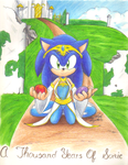 A thousand years of Sonic cover by sonicartist16