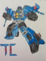 Transformers G1: Thundercracker Finished by ElizabethPrime