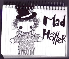 mad hatter dolly by monsterunderyourbed1