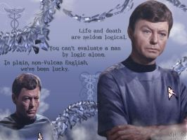 Star Trek-McCoy and His Words by schematization